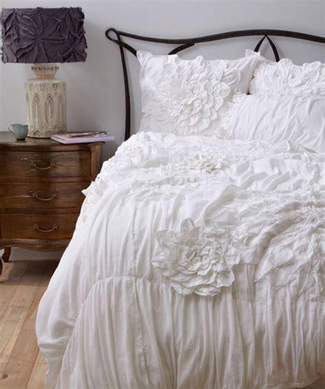 anthropologie comforter set anthropologie bedding ruffled duvet cover