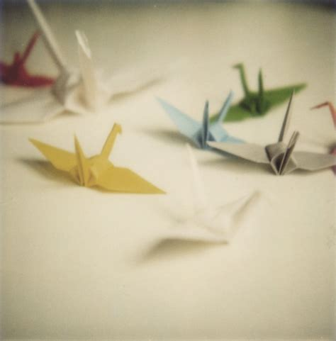 Origami Crane Wish - 20 enchanting pictures of paper cranes