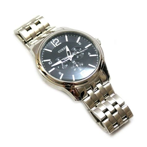 Guess Cross Stainless guess guess steel stainless steel mens u11685g2 guess u11685g2