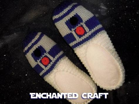 r2d2 slippers 1000 images about wars crochet patterns projects