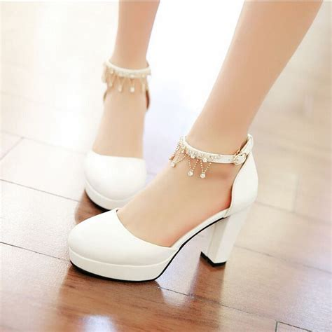 thick high heel shoes fashion thick heel high heels shoes s