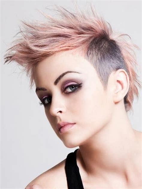 short punk hairstyles for women short punk hairstyles for girlsghantapic