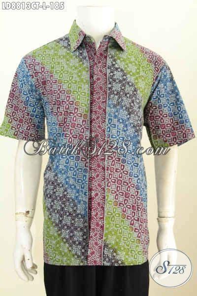 model baju batik resmi pria kemeja batik halus