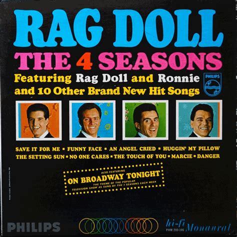 rag doll 4 seasons the 4 seasons rag doll vinyl lp album at discogs