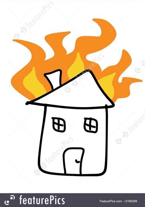 house fire insurance fire insurance illustration