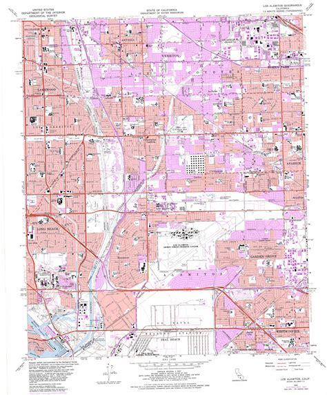 california quadrangle map los alamitos topographic map ca usgs topo 33118g1