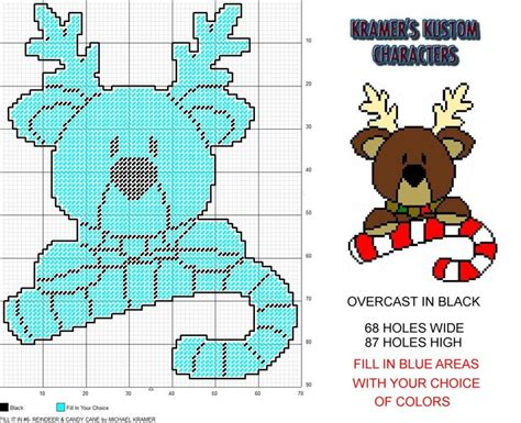 fill pattern canvas javascript fill it in 6 reindeer candy cane christmas plastic