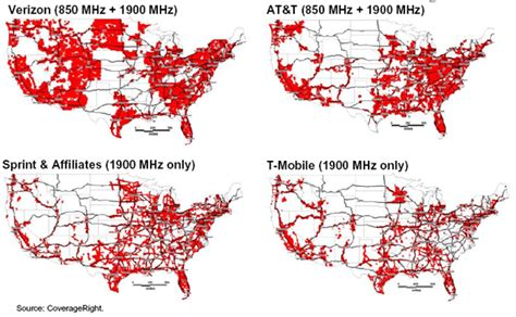 usa cell phone coverage map coverage maps