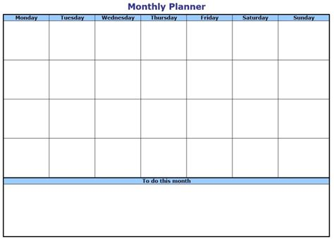 list calendar template free printable daily weekly to do list for template