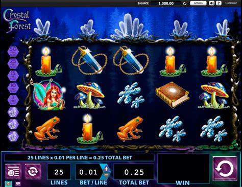 play crystal forest  slot wms casino slots