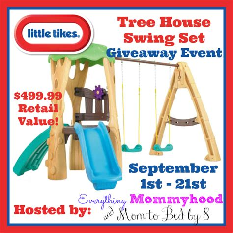 little tikes treehouse swing set little tikes tree house swing set giveaway miss frugal mommy