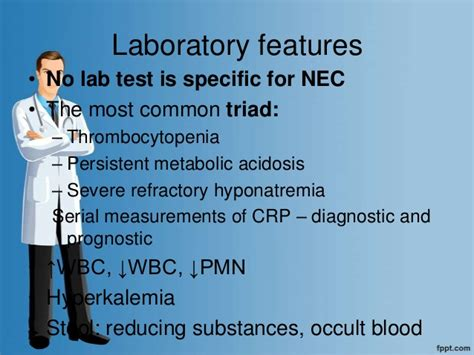 Stool Test For Reducing Substances by Necrotizing Enterocolitis
