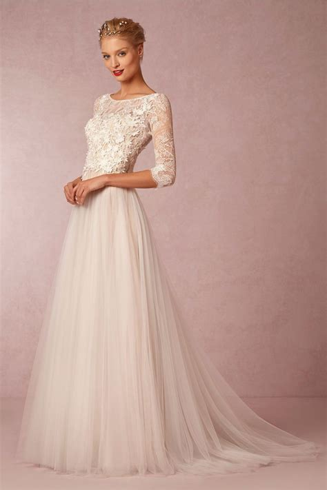 New Wedding Dresses for Spring 2015 at BHLDN   Weddings