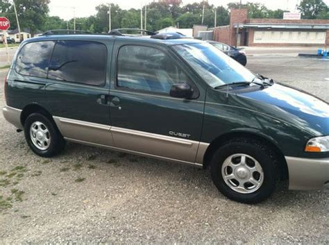 nissan mini 2000 sell used 2000 nissan quest gle mini passenger 4 door