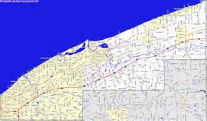 Ohio Lakes Map by Bridgehunter Com Lake County Ohio