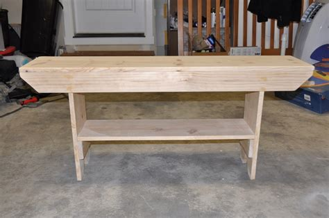 five board bench ana white five board bench modified diy projects