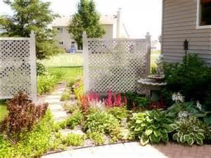 Trellis Fence Screening Garden Trellis Ideas Home Interior Design