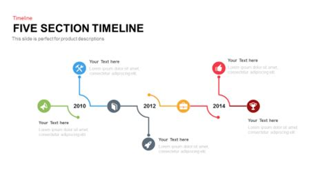 sectionalism timeline slidebazaar free premium powerpoint slide and templates