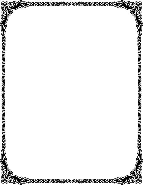 Wedding Border Design Png by Wedding Borders Png Clipart Best
