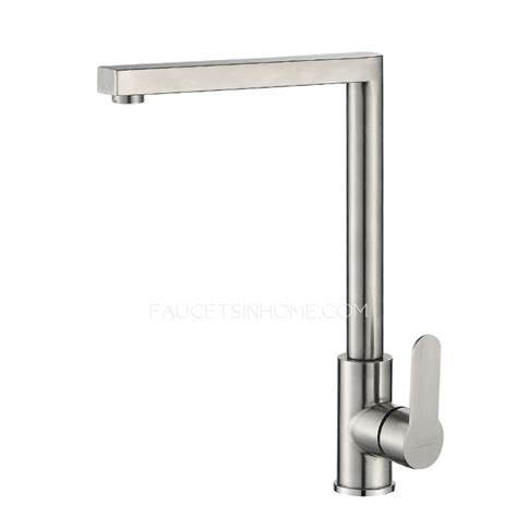 brushed nickel faucet with stainless steel sink stainless steel brushed nickel 90 degree kitchen sink