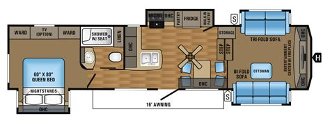jayco eagle 5th wheel floor plans 2017 eagle fifth wheel floorplans prices jayco inc