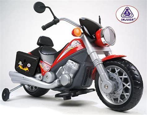 Elektromotorrad Harley Davidson Kinder by Moto El 233 Ctrica 6v Para Ni 241 Os Injusa Custom Falcon Con Luz