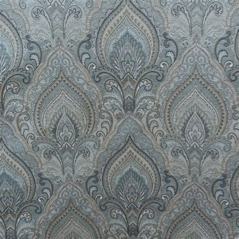 m9952 delft floral upholstery fabric by barrow merrimac