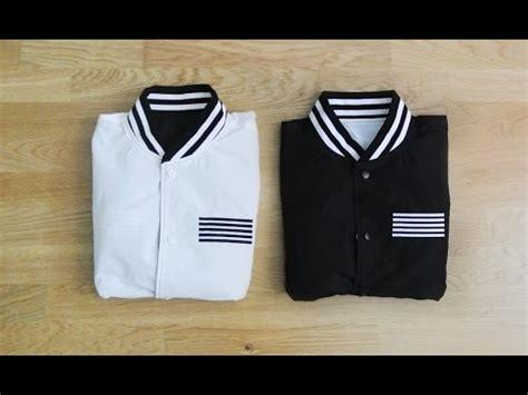 Jacket Bigbang Made unboxing bigbang made reversible jacket