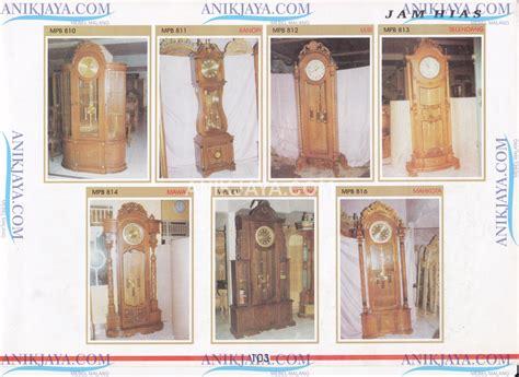 Kasur Spon Malang katalog model desain jam hias mebel anik jaya malang
