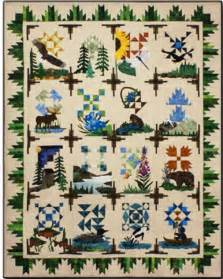 the rushin tailor northern wilderness quilt kit 77314