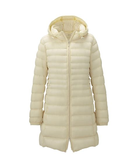 Uniqlo women premium down ultra light coat warmth without bulk we
