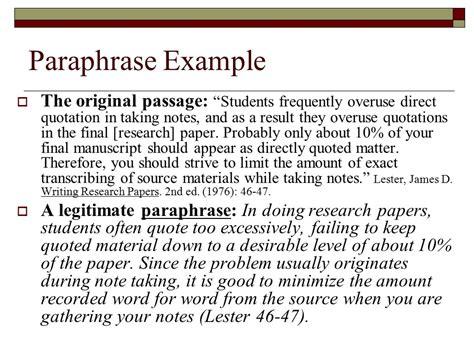 sle essay for summarizing paraphrasing and quoting paraphrasing a paraphrase is a restatement of someone else