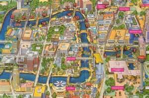 map of downtown san antonio san antonio