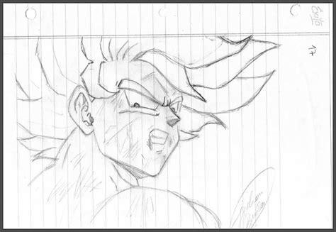 imagenes a lapiz para hacer geniales dibujos de dragon ball z faciles a lapiz
