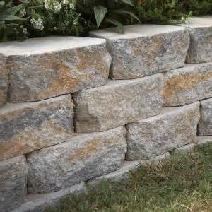 Decorative Cinder Blocks Home Depot pavestone 12 in yukon concrete wall block 81150 at the