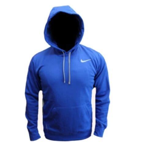 Sweater Hoodie Nike Navy 2 blue nike sweaters