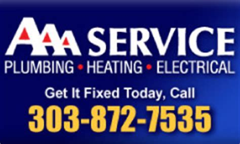 Aaa Total Plumbing by Bbb Accredited Business Directory Denver Boulder Colorado
