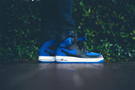 Nike Airforce Shoes Sepatu Addict10 nike air 1 mid retro royal sneakers addict