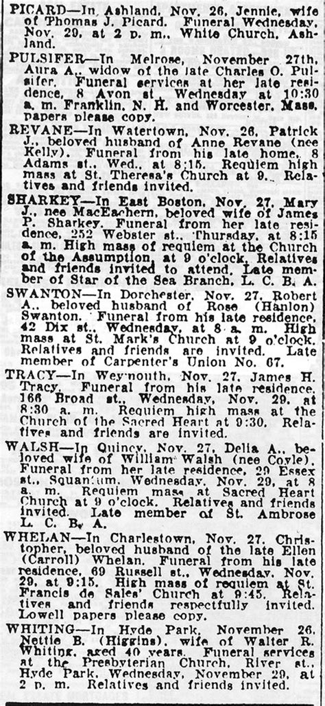 City Of Boston Birth Records Robert Swanton