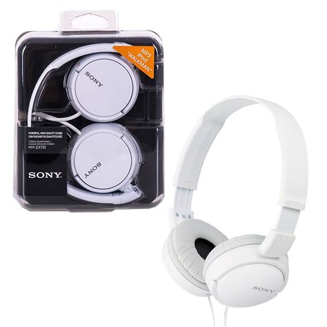 Headset Sony Mdr Zx110 new sony mdr zx110 stereo monitor headphones