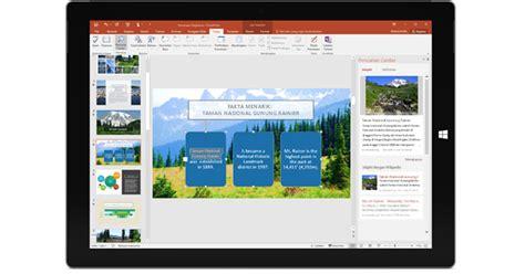 Kerja Praktis Dengan Aplikasi Office Di Tablet yang baru di aplikasi office 2016