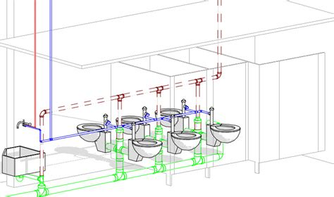 Plumbing In Revit by Revit Oped Dept Of Subtle Sloping Pipe Creates New Pipe