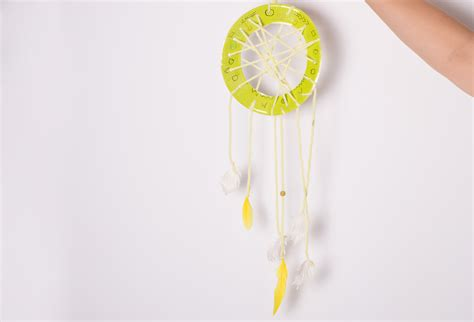 How To Make A Paper Dreamcatcher - how to make a paper dreamcatcher 10 steps with pictures