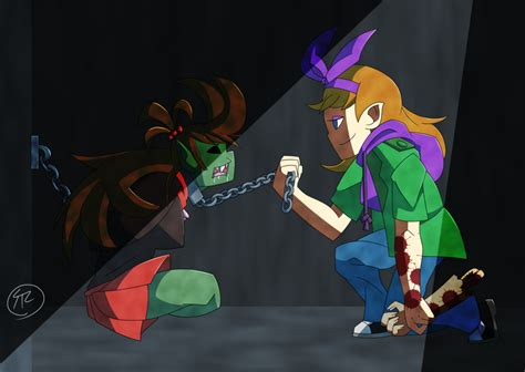 swing wesel matilda and zombeh eddsworld by shoutathelunatic on