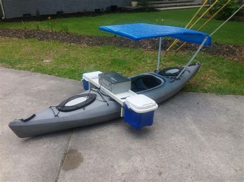 kayak boats kayak modification fishing machine boat mod fishing