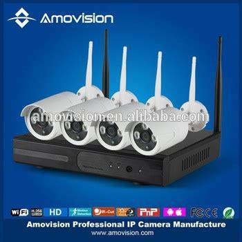 Wireless Nvr Kit 130w Hd 4ch Dengan 4 Cctv 960p 161216 wireless hd nvr kit 720p 4ch wifi nvr kit signal range 100 meters across 4 wall with outdoor