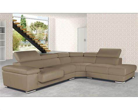 italian leather sectional italian leather sectional set pacifico esfpc