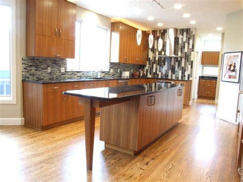 Teak Kitchen Cabinets by Teak Contemporary Kitchen Contemporary Kitchen