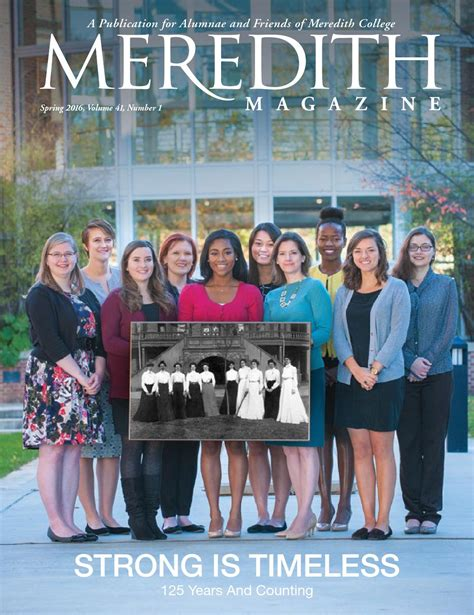 Walton Mba Class Profile by Meredith Magazine 2016 By Meredith College Issuu