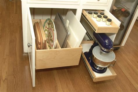 Baking Storage by Picture Of Glide Out Storage Of Baking Stuff